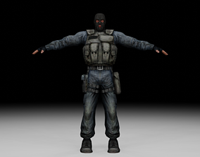 3D asset Stalker - Mercenary 08