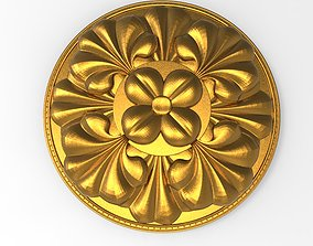 decorative rosette 3D