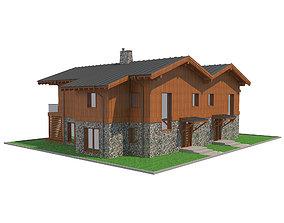 3D model Chalet House 6