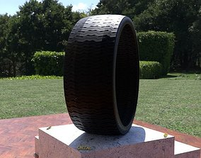 ORTAS TIRE NO 31 GAME READY AND 3D PRINTABLE