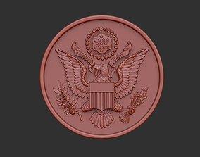 3D model US Great Seal Emblem