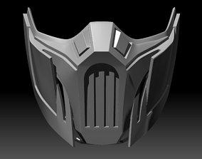Sub-Zero Mask Mortal Kombat 11 3D printable model