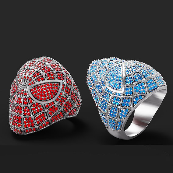 Spider-Man ring