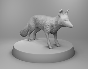 Wild fox 3D print model