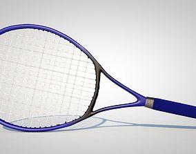 Tennis Racket 3D model equipment