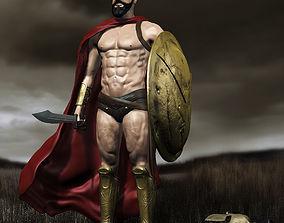 3D King Leonidas