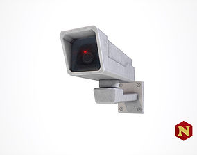 3D model low-poly Security Camera