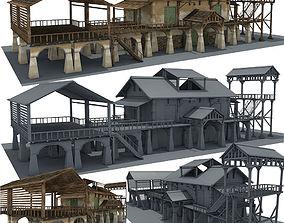 Hayloft 3D model hayloft