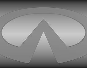 Infinti logo 3D