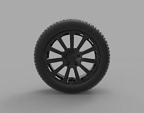 3D printable model SSC Ultimate Aero wheel