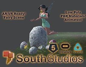 animated Animated Fairy Tales AR VR Unity 3dsmax