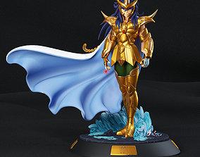 Saint Seiya Milo gold saint fanart 3D printable model