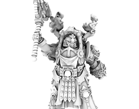 HeresyLab Hades Legion 5 models Conquestor Royal Guard 2