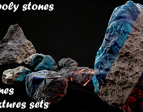 Stones pack Vol 3 3D asset
