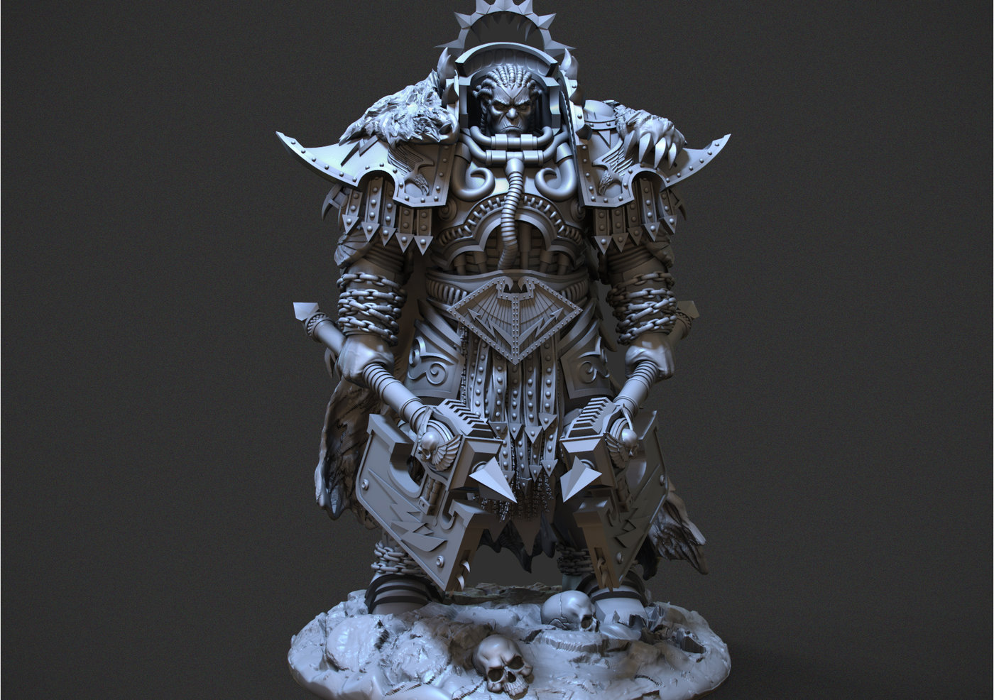 Martyr Logarius - CGTrader Digital Art Competition
