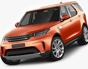 Land Rover Discovery 2017 3D