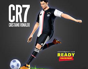 Cristiano Ronaldo - CR7 3D printable model