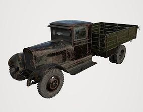 3D model Abandoned Truck 15