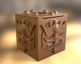 3D printable model Vongola box