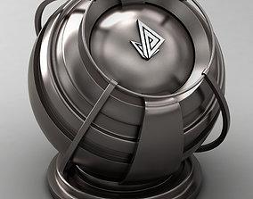 3D model VRAY SHADER---METAL---Rhenium
