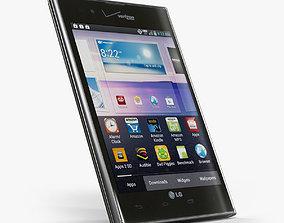 LG Intuition VS950 3D asset
