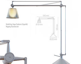 Flos Archimoon Soft Rigged 3D