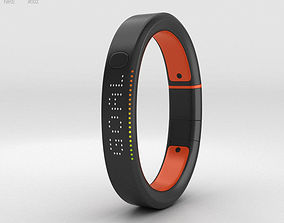 Nike FuelBand SE Total Crimson 3D model