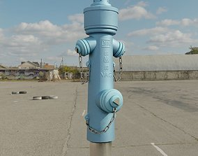 Fire Hydrant VAG Version -2- Low-Poly Version 3D model
