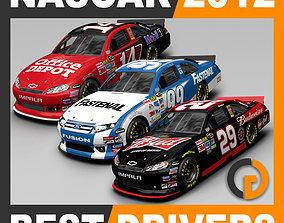 3D Nascar 2012 Cars - 2011 Best Drivers stewart
