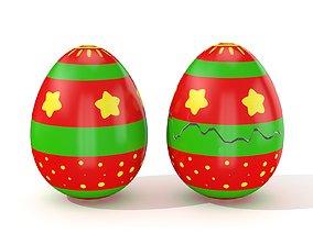 3D model Easter Egg Cracked N008