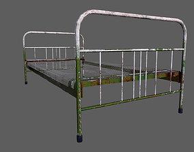Old Bed 3D asset realtime mattress