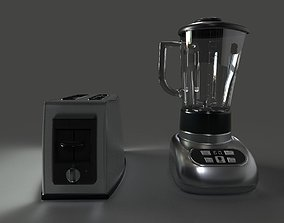 Toaster and Blender 3D