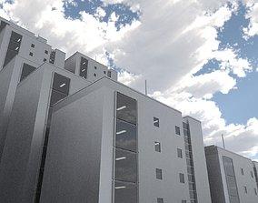 3D asset Array House Example