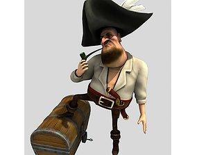 Pirate Flint for Poser 3D model