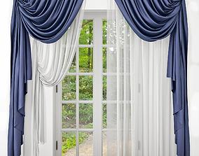 3D Curtains door