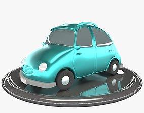 cartooncar Cartoon car 3D model realtime