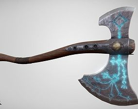 God of War Axe Leviathan 3D model