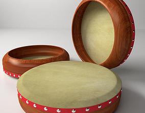 Kompang 3D model