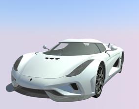 3D model Koenigsegg Regera v2
