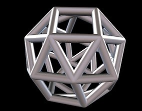 3D print model 034 Mathart - Archimedean Solids - Snub 4