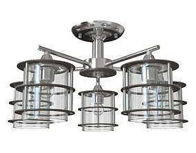 Ceiling chandelier Rotondum 3505 - 5C 3D model