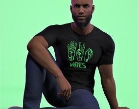 Kayne Male Character 3D