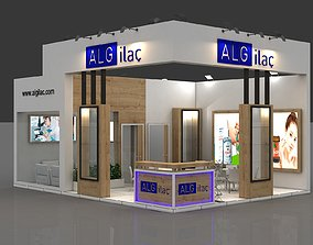 3D model Alg Stall Size m 6x 8 m Height 450 cm