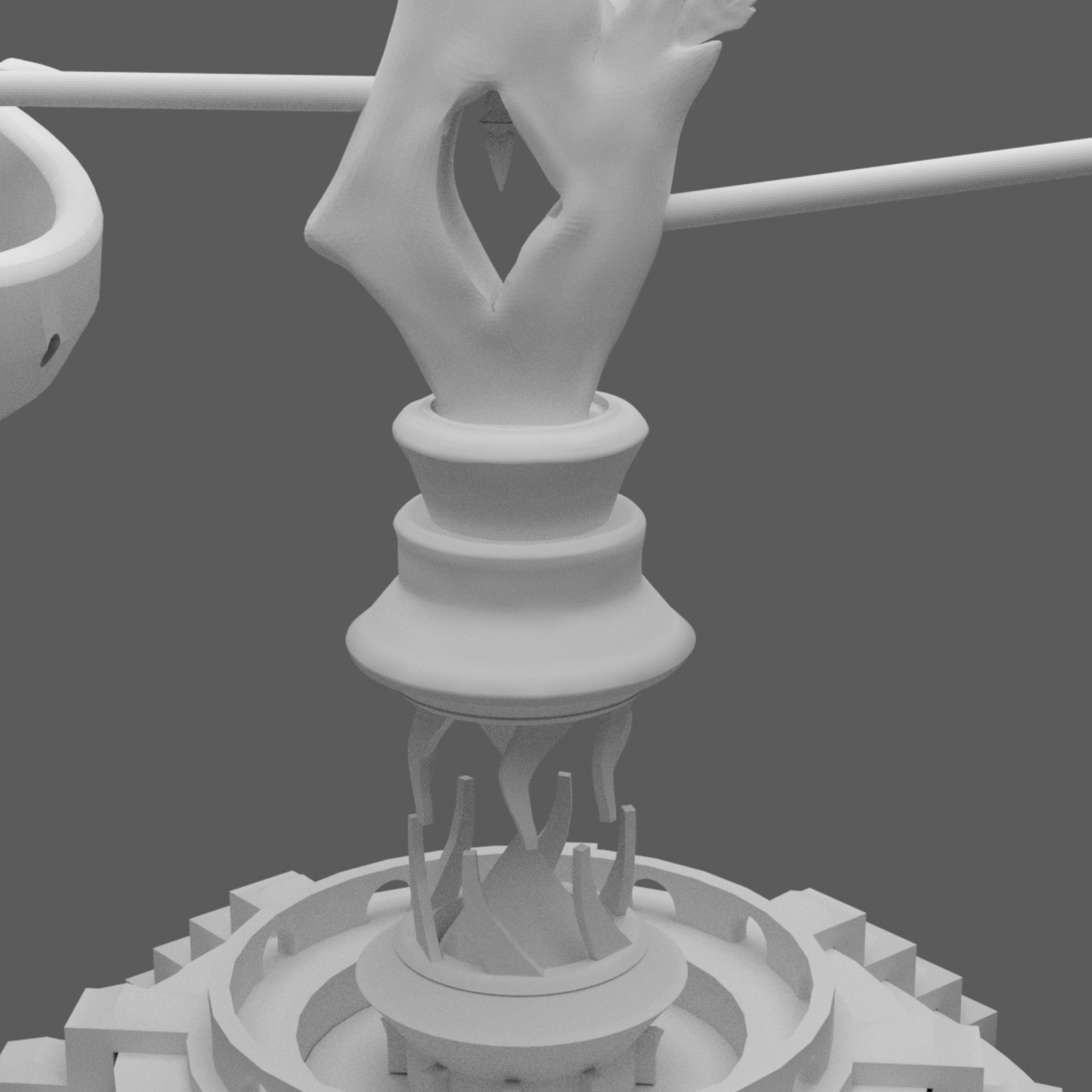 Final Fantasy Aetheryte Crystal printable