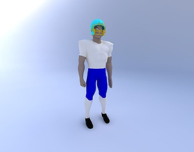 Football-Player-Jointed 3D model