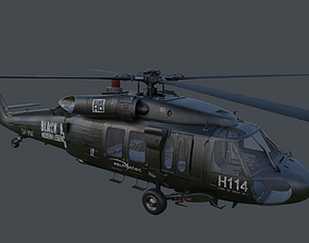 3D model UH-60 Blackhawk