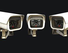 CCTV Camera PBR 3D asset