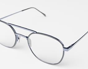 3D Old School Glasses realistic