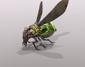 3D model rigged Firefly