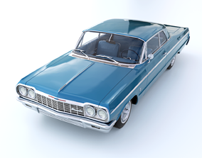 3D model Chevrolet Impala SS 409 1964
